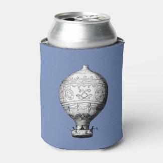 Porta-lata Balão de ar quente do vintage de Montgolfier