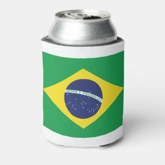 Porta-lata Bandeira brasileira