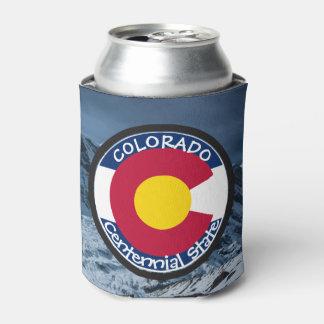Porta-lata Bandeira da circular de Colorado