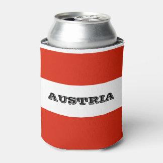 Porta-lata Bandeira de Áustria