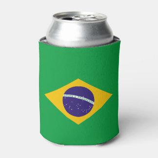 Porta-lata Bandeira de Brasil