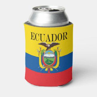 Porta-lata Bandeira de Equador