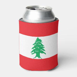 Porta-lata Bandeira de Líbano