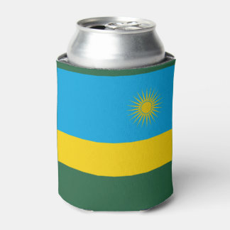 Porta-lata Bandeira de Rwanda