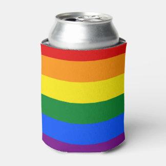 Porta-lata Bandeira do arco-íris