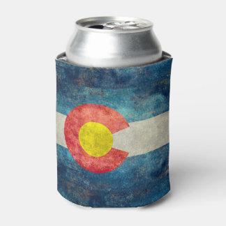 Porta-lata Bandeira do estado de Colorado com olhar sujo