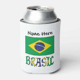 Porta-lata Bandeira faz Brasil e Brasil vem o Nome