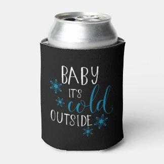 Porta-lata Bebê é Natal exterior frio