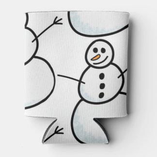 Porta-lata Bonecos de neve