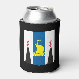 Porta-lata Brasão do oblast de Sakhalin