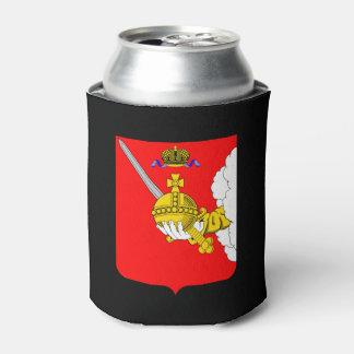 Porta-lata Brasão do oblast de Vologda