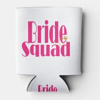 Porta-lata bride-squad-gold.
