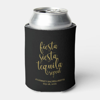 Porta-lata Brilho Bachelorette da repetição do Tequila do