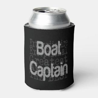 Porta-lata Capitão Extraordinaire do barco