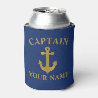 Porta-lata Capitão Poder Refrigerador do barco da âncora do