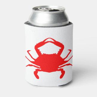 Porta-lata Caranguejo vermelho