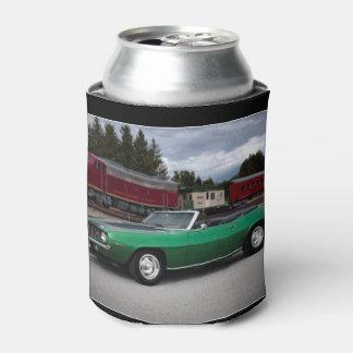 Porta-lata Carro 1969 clássico convertível de Chevy Camaro