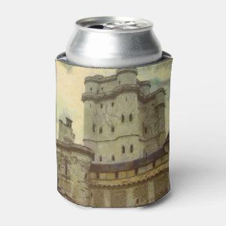 Porta-lata Castelo de Vincennes, pintura de Paris
