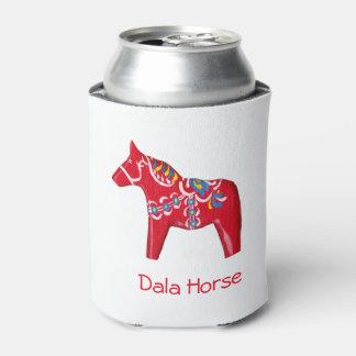 Porta-lata Cavalo vermelho, amarelo e azul de Dala