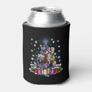 Porta-lata Cavalos com estilos do Natal