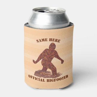 Porta-lata caverna de passeio do homem de z Bigfoot Sasquatch