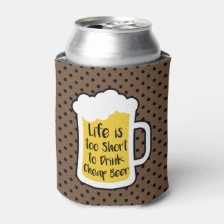 Porta-lata Cerveja barata