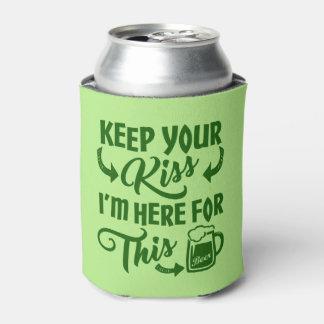 Porta-lata Cerveja irlandesa engraçada do impedimento | do