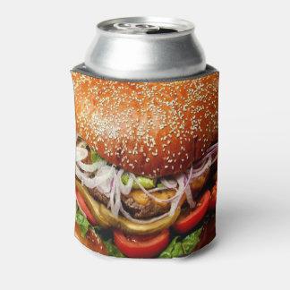 Porta-lata cheeseburger mestre do Hamburger do dia dos pais