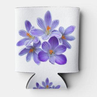 Porta-lata Cinco açafrões violetas 05,0, cumprimentos do