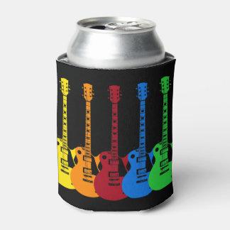 Porta-lata Cinco guitarra elétricas