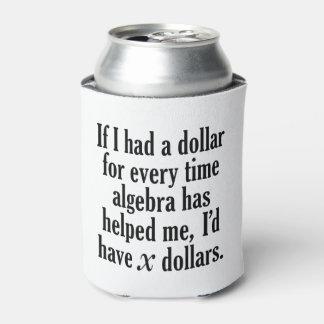Porta-lata Citações engraçadas da matemática/álgebra - eu