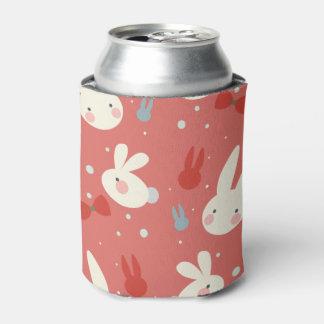 Porta-lata Coelhinhos da Páscoa bonitos no teste padrão