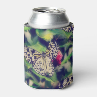 Porta-lata Colagem da borboleta