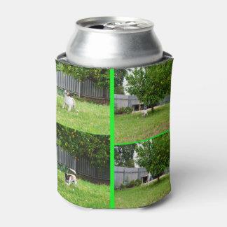 Porta-lata Colagem da imagem do Fox Terrier quatro,