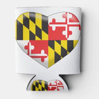 Porta-lata Coração de Maryland