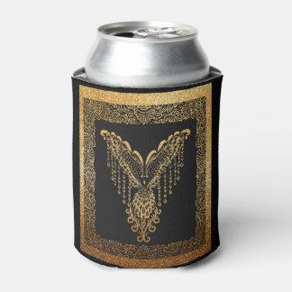 Porta-lata Corvo dourado