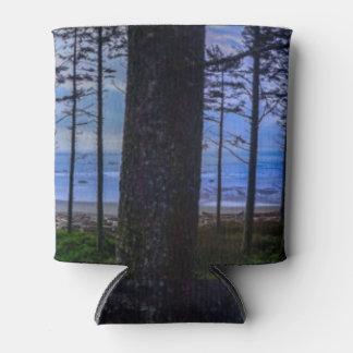 Porta-lata Costa de mar da praia do rubi