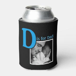 Porta-lata D é para o pai