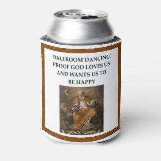 Porta-lata dança de salão de baile