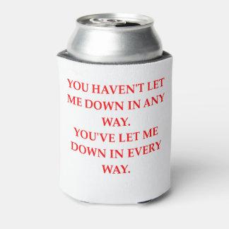Porta-lata deixe para baixo