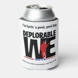 Porta-lata Deplorável nós Drinkware