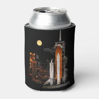 Porta-lata Descoberta e lua do vaivém espacial