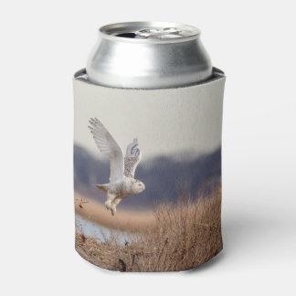 Porta-lata Descolagem nevado da coruja