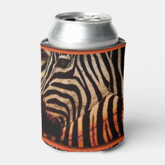 Porta-lata Design da zebra & do impressão do teste padrão