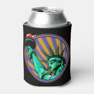 Porta-lata Design do emblema da estátua da liberdade