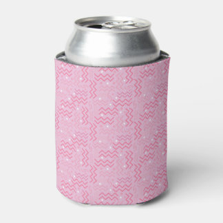 Porta-lata Design Funky de Memphis do rosa Pastel