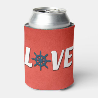 Porta-lata Design náutico do amor
