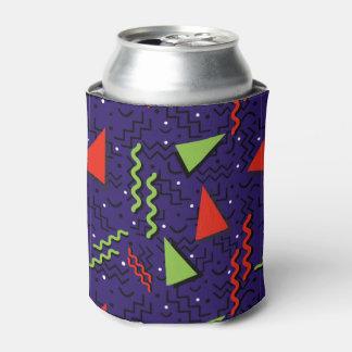 Porta-lata Design roxo alto Funky de Memphis