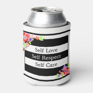 """Porta-lata Do """"refrigerador floral lindo da lata do amor"""
