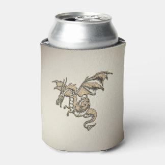 Porta-lata Dragão dourado